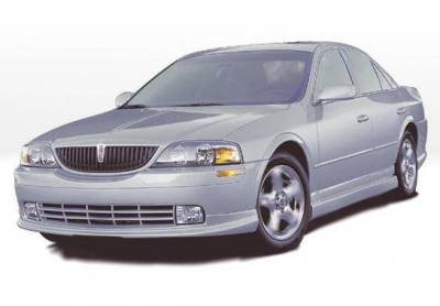 Wings West - 2000-2003 Lincoln Ls Sedan Custom Lsc 4Pc Complete Kit Polyurethane - Image 2