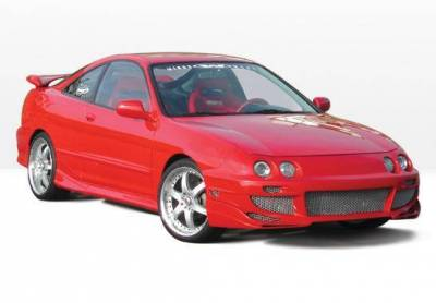 Wings West - 1994-1997 Acura Integra 2Dr Avenger 4Pc Complete Kit - Image 2