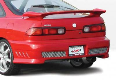 Wings West - 1994-1997 Acura Integra 2Dr Avenger 4Pc Complete Kit - Image 3