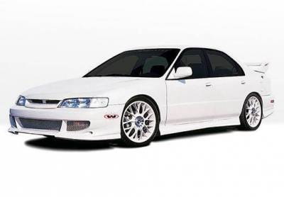 Wings West - 1994-1995 Honda Accord 4Dr Bigmouth 4Pc Complete Kit 4 Cylinder Only - Image 2