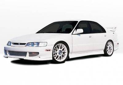 Wings West - 1996-1997 Honda Accord 4Dr Bigmouth 4Pc Complete Kit 4 Cylinder Only - Image 2