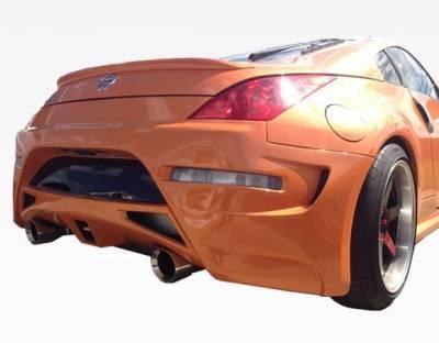 VIS Racing - 2003-2008 Nissan 350Z 2Dr Ams Gt Rear Bumper - Image 1