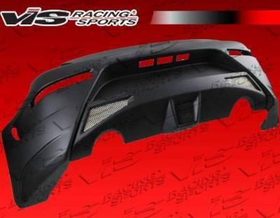 VIS Racing - 2003-2008 Nissan 350Z 2Dr Ams Gt Rear Bumper - Image 2