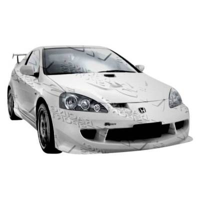 VIS Racing - 2005-2006 Acura Rsx 2Dr Techno R Front Bumper - Image 2