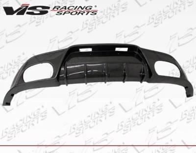 VIS Racing - 2010-2016 Hyundai Genesis Coupe Vip Carbon Fiber Rear Diffuser - Image 1