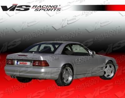 VIS Racing - 1990-2002 Mercedes Sl R129 2Dr Euro Tech Type 2 Rear Lip - Image 2
