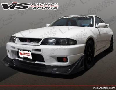 VIS Racing - 1995-1998 Nissan Skyline R33 Gtr 2Dr V Speed Carbon Fiber Lip - Image 3