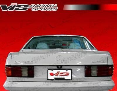 VIS Racing - 1981-1991 Mercedes S-Class W126 4Dr Euro Tech Spoiler - Image 1