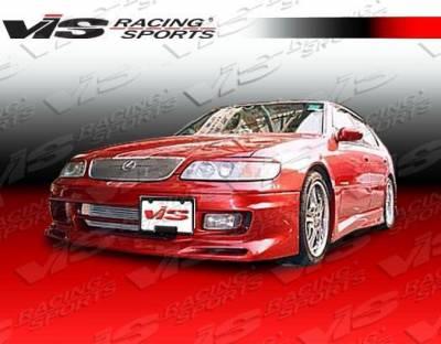 VIS Racing - 1993-1997 Lexus Gs 300/400 4Dr Cyber 1 Front Bumper - Image 2