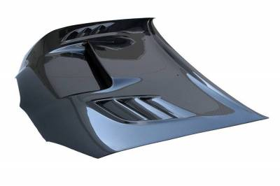 VIS Racing - Carbon Fiber Hood VS2 Style for Subaru WRX 4DR 06-07 - Image 1
