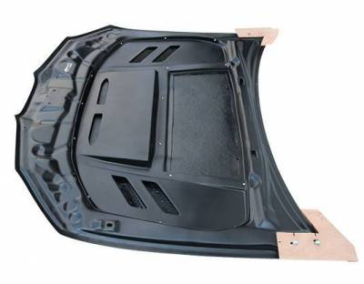 VIS Racing - Carbon Fiber Hood VS2 Style for Subaru WRX 4DR 06-07 - Image 2