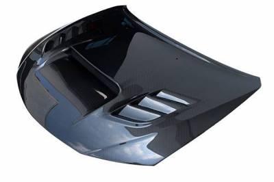 VIS Racing - Carbon Fiber Hood VS2 Style for Subaru WRX Hatchback & 4DR 08-14 - Image 1