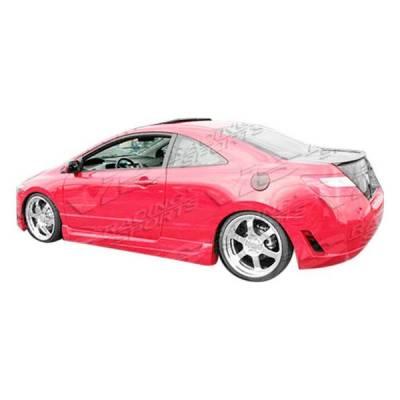 VIS Racing - 2006-2008 Honda Civic 2Dr Touring Full Kit - Image 2