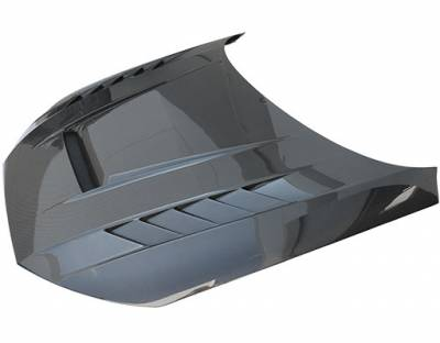 VIS Racing - Carbon Fiber Hood DTM Style for AUDI A4 4DR 17-19 - Image 1