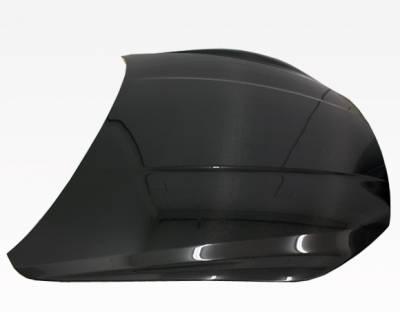 VIS Racing - Carbon Fiber Hood OEM Style for Maserati Ghibli 4DR 2014-2020 - Image 2