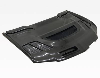 VIS Racing - Carbon Fiber Hood JC Style for Mitsubishi EVO 9 4DR 06-07 - Image 1