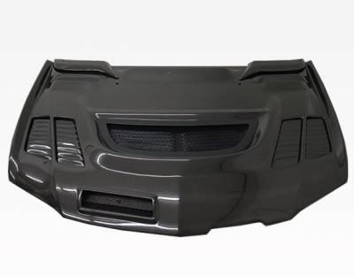 VIS Racing - Carbon Fiber Hood JC Style for Mitsubishi EVO 9 4DR 06-07 - Image 5