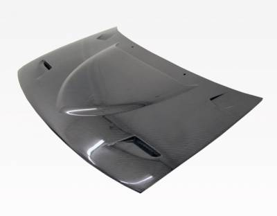 VIS Racing - Carbon Fiber Hood Euro R Style for AUDI S4 4DR 98-02 - Image 1
