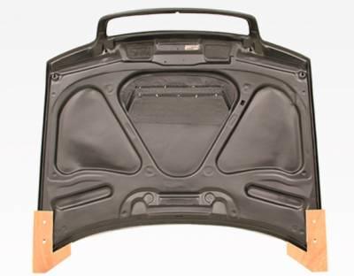 VIS Racing - Carbon Fiber Hood Invader Style for AUDI A4 4DR 96-01 - Image 5