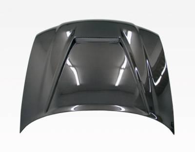 VIS Racing - Carbon Fiber Hood Invader Style for AUDI A4 4DR 96-01 - Image 3