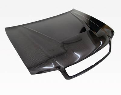 VIS Racing - Carbon Fiber Hood Invader Style for AUDI A4 4DR 96-01 - Image 4