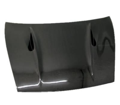 VIS Racing - Carbon Fiber Hood A Tech Style for Porsche Cayenne 4DR 02-10 - Image 1