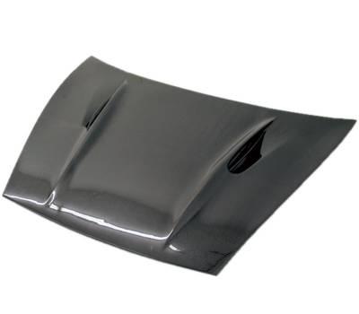 VIS Racing - Carbon Fiber Hood A Tech Style for Porsche Cayenne 4DR 02-10 - Image 2