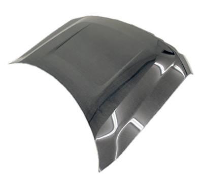 VIS Racing - Carbon Fiber Hood OEM Style for Ford F150 2DR & 4DR 09-14 - Image 2