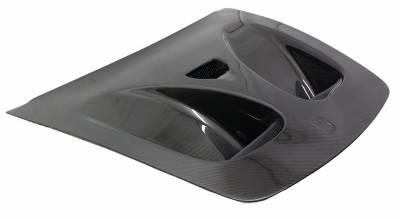 VIS Racing - Carbon Fiber Hood DTM Style for Ferrari F 430 2DR 05-09 - Image 1