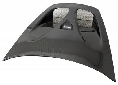 VIS Racing - Carbon Fiber Hood DTM Style for Ferrari F 430 2DR 05-09 - Image 2