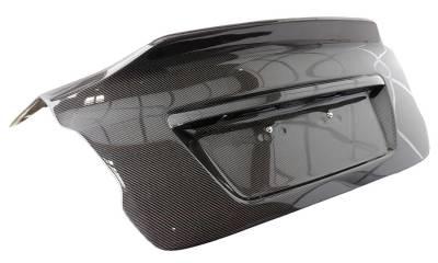 VIS Racing - Carbon Fiber Trunk Demon Style for Subaru WRX 4DR 2015-2020 - Image 2
