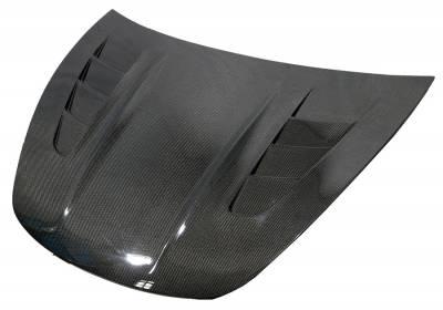 VIS Racing - Carbon Fiber Hood ASM Style for 2017-2020 Tesla Model 3 - Image 1