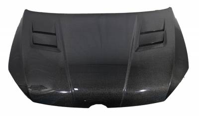 VIS Racing - Carbon Fiber Hood A Spec Style for Volkswagen Golf 7 2DR & 4DR 2015-2019 - Image 2