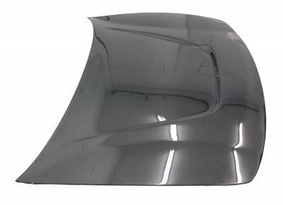 VIS Racing - Carbon Fiber Hood JS Style for Acura Integra (JDM) 2DR & 4DR 94-01 - Image 2