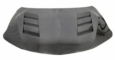 VIS Racing - Carbon Fiber Hood AMS Style for Acura TLX 4DR 2018-2020 - Image 2