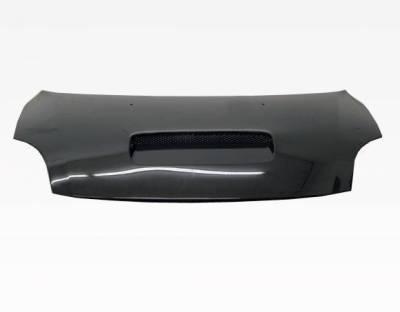 VIS Racing - Carbon Fiber Hood Techno R Style for Suzuki Swift 4DR 05-07 - Image 3