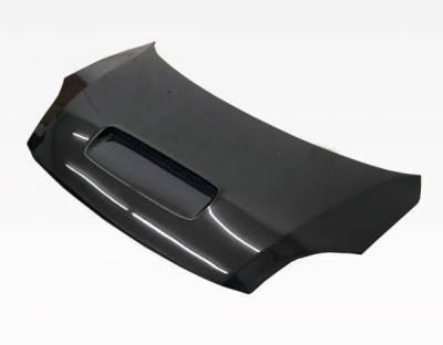 VIS Racing - Carbon Fiber Hood Techno R Style for Suzuki Swift 4DR 05-07 - Image 1