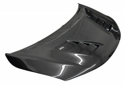 VIS Racing - Carbon Fiber Hood Terminator Style for Honda Fit  4DR 2015-2017 - Image 1