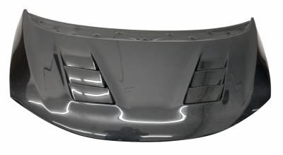 VIS Racing - Carbon Fiber Hood Terminator Style for Honda Fit  4DR 2015-2017 - Image 2
