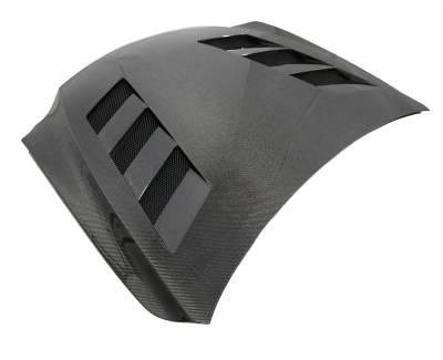 VIS Racing - Carbon Fiber Hood AMS Style for Lexus IS250/350 4DR 2014-2020 - Image 1