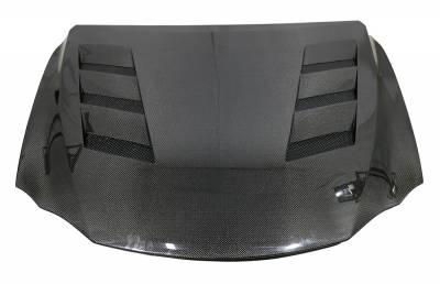VIS Racing - Carbon Fiber Hood AMS Style for Lexus IS250/350 4DR 2014-2020 - Image 2